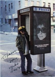 Yoko Ono 1988