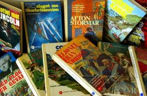 De historiska ungdomsböckerna