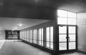 Gula gången, upphov: Almberg & Preinitz, Stockholms Stadsmuseum, CC: By Nc Sa