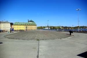 Kupolen. Här med utsikten mot Gamla stan och Skeppsholmen.