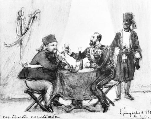 Fritz von Dardel. 1860.