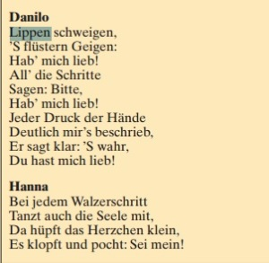 Tyskt libretto.