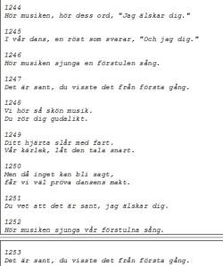 Svensk översättning