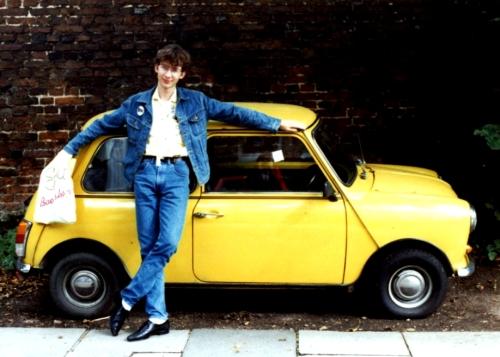 En ung och oförstörd bloggare 1985