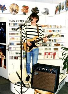 Minikonsert på BK i Uppsala, 17 mars 1989.