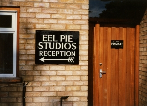 Eel Pie Studios i The Boathouse.