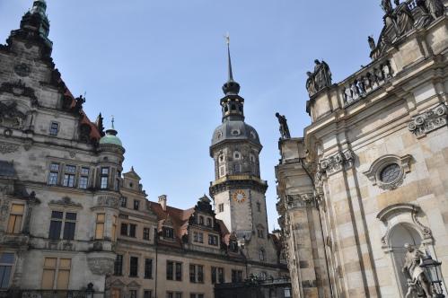 Residensslottet i Dresden Foto: Charlotta Jarnvall