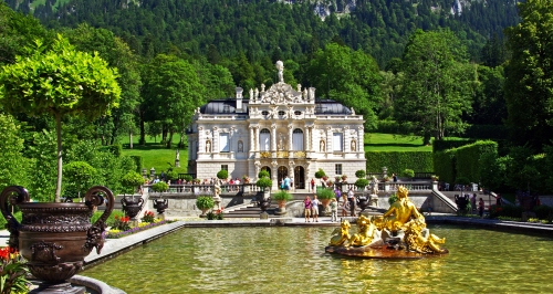 Schloss Linderhof i Bayern