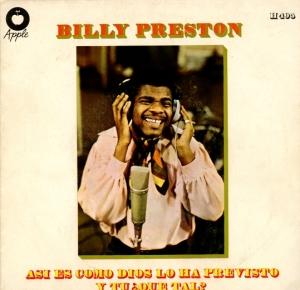 En glad spansk Billy Preston