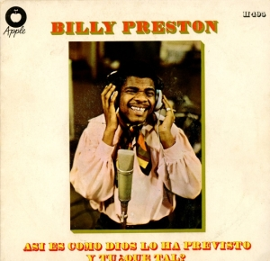 En glad spansk Billy Preston
