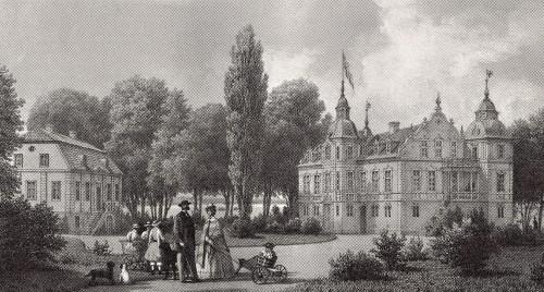 Sjöholm - kopparstick