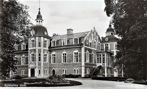 Sjöholm - vykort