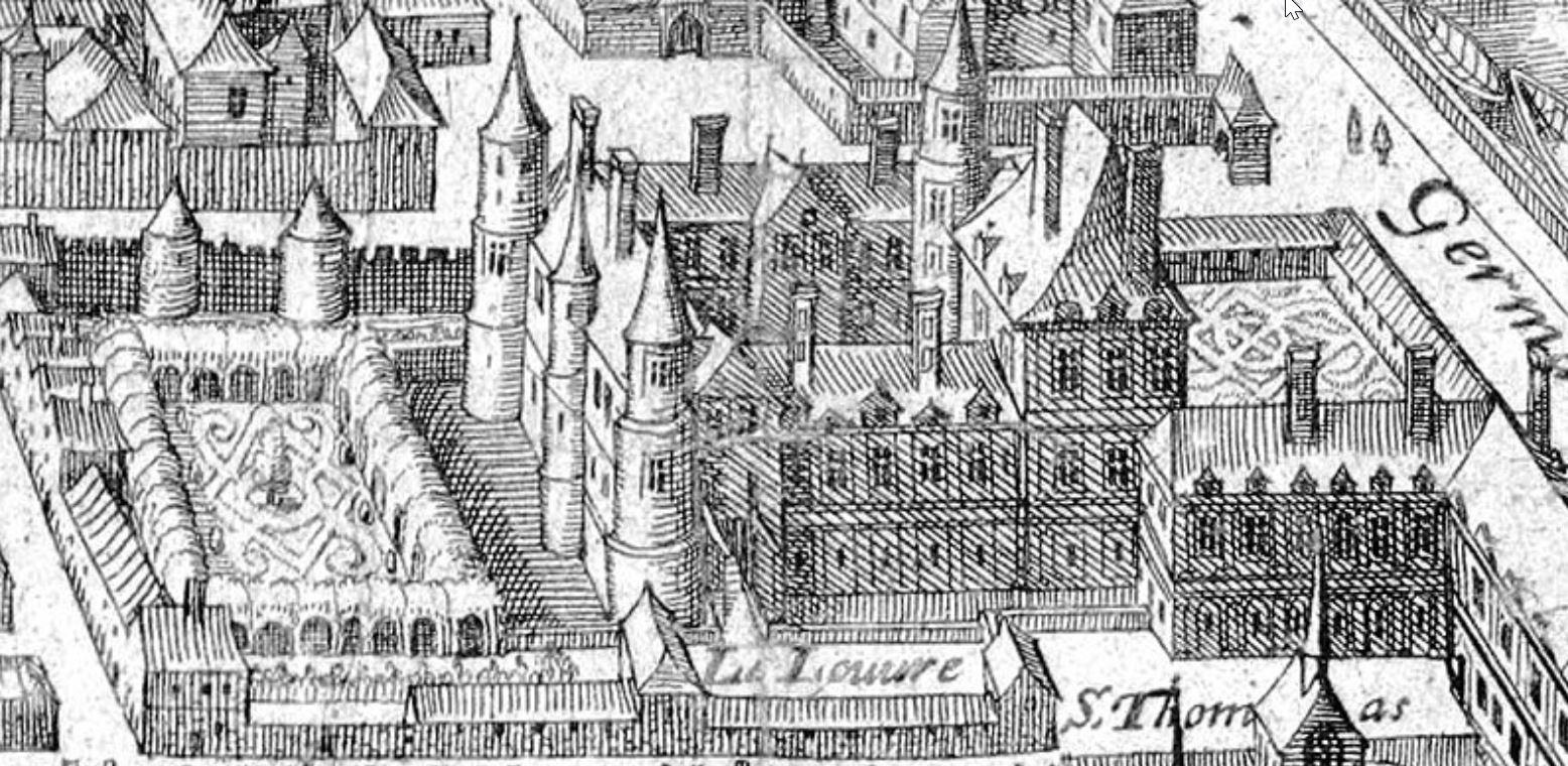 Louvren Cour Carrée