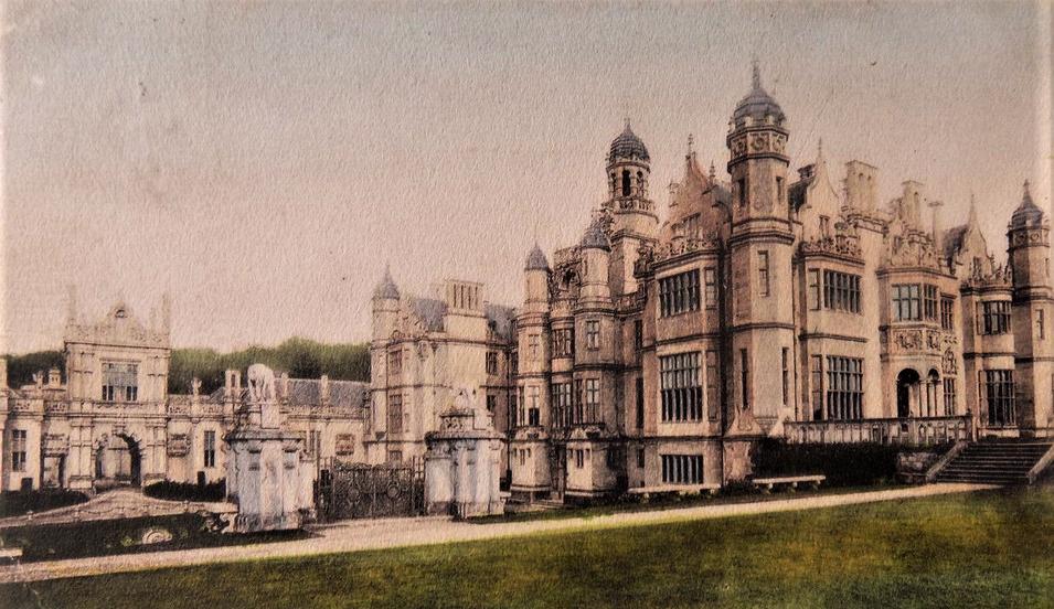 2019-03-16 20_28_21-Postcard Lincolnshire_ Grantham Harlaxton House tint 1912 Needham _ eBay (2)