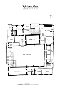 Ightham_Mote_-_First_Floor_Plan