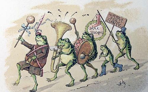 Frog-parade